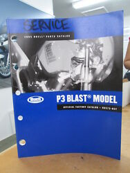 Harley Davidson Factory Parts Catalog 2005 Buell P3 Blast 88 Pages 99573-05y