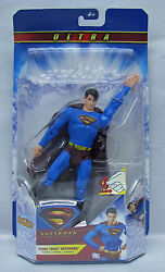 Superman Returns Ultra Flight Force Superman 8in Action Figure NIP Mattel S104 4