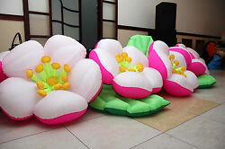 16.4 ft lenth inflatable flowers
