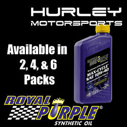 Royal Purple Max-cycle Synthetic Motorcycle Oil 10w-40 - 4 Quarts 01315