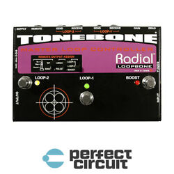 Radial Engineering Tonebone Loopbone Loop CONTROLLER - NEW - PERFECT CIRCUIT
