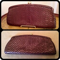 Vintage Evening Bag - Handbag - Clutch - Bronze Shimmer SALE  - FREE SHIPPING!