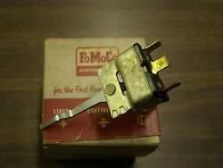 Nos Oem Ford 1956 Fairlane Heater Switch