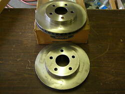 Nos 1986 - 1991 Lincoln Continental + Taurus Front Disc Brake Rotors 1989 1990
