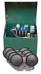 Deluxe Rotary Vane 3/4 Hp Pond Aeration System With Cabinet And Diffusers Pa75ad