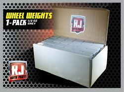 ONE 9 LB. BOX WHEEL WEIGHTS 1 2 OZ. STICK ON ADHESIVE TAPE 288 PIECES