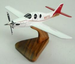 Lancair Evolution Private Airplane Desk Wood Model Small New
