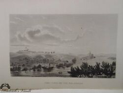 Fort Yuma On The Colorado Antique Steel Engraving
