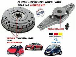FOR SMART CABRIO CITY COUPE FORTWO 0.7 2003-2007 FLYWHEEL + CLUTCH KIT + BEARING