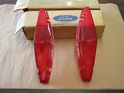Nos Oem Ford 1967 Mercury Station Wagon Tail Light Lenses Colony Park Commuter