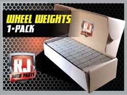 1 9 LB BOX WHEEL WEIGHTS 1 4 OZ. STICK ON ADHESIVE TAPE 144 OZ 576 PIECES