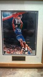 Shaquille O'neal Autographed With Authentic Sticker