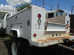 Truck Body Tool Box 128 Long X 88 Wide 84 Cab To Axle