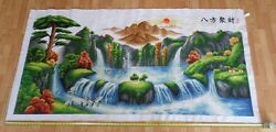 100 Hand Crafted Sewn Mural