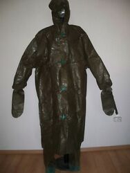VINTAGE BULGARIAN ARMY CHEMICAL PROTECTION SUITCOLLECTIBLE ITEM
