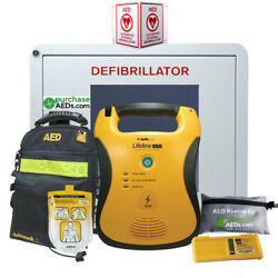 Defibtech Lifeline Aed Workplace And Community Bundle