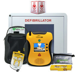Defibtech Lifeline View Aed Workplace And Community Bundle
