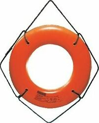 Jim-buoy Jbo-x-20 Life Ring Orange Buoy 20 Without Becket Uscg Approved Boat