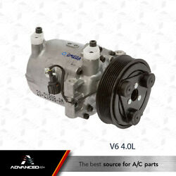 New AC  AC Compressor Fits:  2005 - 2014 Nissan Frontier V6 4.0L ONLY