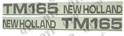 41988 Ford New Holland Decal new Holland TM165 - Set Old Type - PACK OF 1