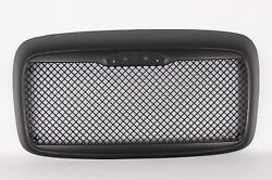 Black Custom Mesh Grill Freightliner Columbia 2000-2011 Without Bug Screen