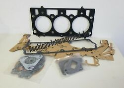 Mahindra Tractor Complete Gasket Set W/ Head 3 Cyl New -4170 And -0915