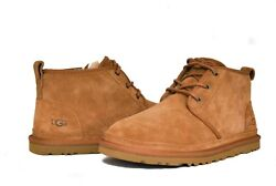UGG Australia Men's Neumel 3236 Shoes Chestnut Suede Sz 7-14 NEW