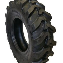 2-tires 12.5/80-18 New Road Crew 14 Ply R4 Front Farm Backhoe Tire1258018