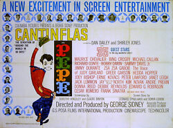 Pepe 1960 Cantinflas, Shirley Jones, Dan Dailey, Maurice Chevalier Quad Poster