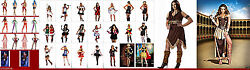 Womans Many Styles Costumes Pirate Sexy Queen Smal To X Large Alot Of Plus Sizes