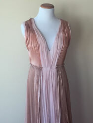 J. Mendel Nwt 7900 Evening Long Silk Gown Size 4