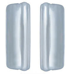 Volvo Vnl 630 670 780 Chrome Mirror Protection Covers -driver And Passenger Side
