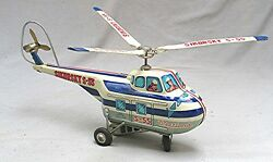 westland sikorsky s 55 helicopter tin