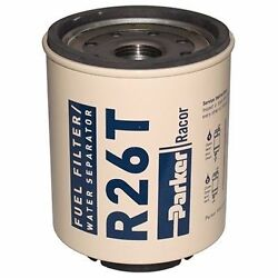 Racor Fuel Filter/water Separator 45 Gph 10 Micron R26t For 225r Marine Md