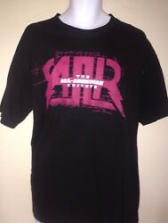 All American Rejects I Wanna Rock 2009 Tour Large T-shirt Rock Out Of Print