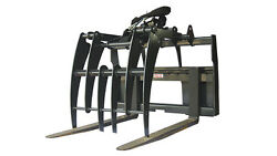 New 5' Pallet Fork Grapple Skid Steer Attachment Free Shipping