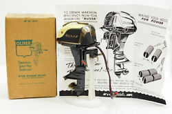k o 1958 oliver olympus 35hp toy outboard