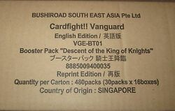 sealed case of bt01 descent of the king of