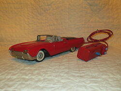 tin battery operated cragstan 1962 ford