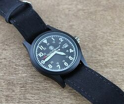 Montre Smithandwesson Black Face Military Watch - Sww1464blk