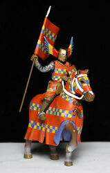 mounted medieval knight 54mm frontline toy