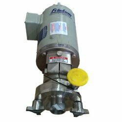 1.5 Hp Fristam Stainless Steel Sanitary Centrifugal Pump Model Fpr701-75