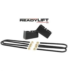 Readylift Silverado And Sierra 1500 1999-2017 2wd And 4wd 3 Inch Rear Block Kit