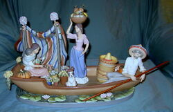 Lladro Figurine 5423 Carnival Time / Retired With Box / Limited To 1000 Piece