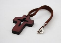 christian wooden wood cross for car A 1 $11.00