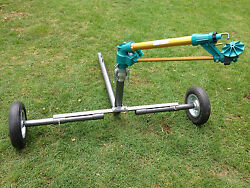 Ducar Jet50 - Gear Drive Sprinkler With 2 Wheeled Cart Extendable Legs + Qc
