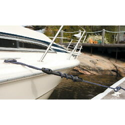 3/8 Inch Dock Line Mooring Snubber For Boats Up To 20 Ft - Protects Hardware