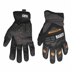 Klein Tools 40218 Journeyman Large Extreme Synthetic Leather Gloves