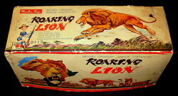 1950s rosko toy mechanical roaring remote