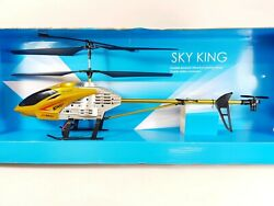 Huge Metal Radio Control Rc Light Up Toy Volitation Alloy 3ch Gyro Rc Helicopter